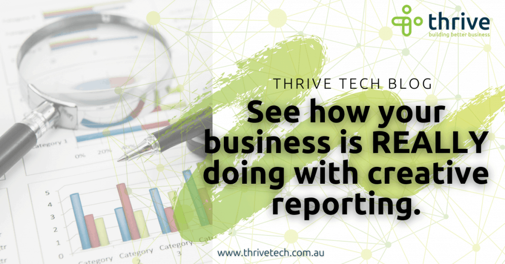 See how your business is REALLY doing with creative reports.