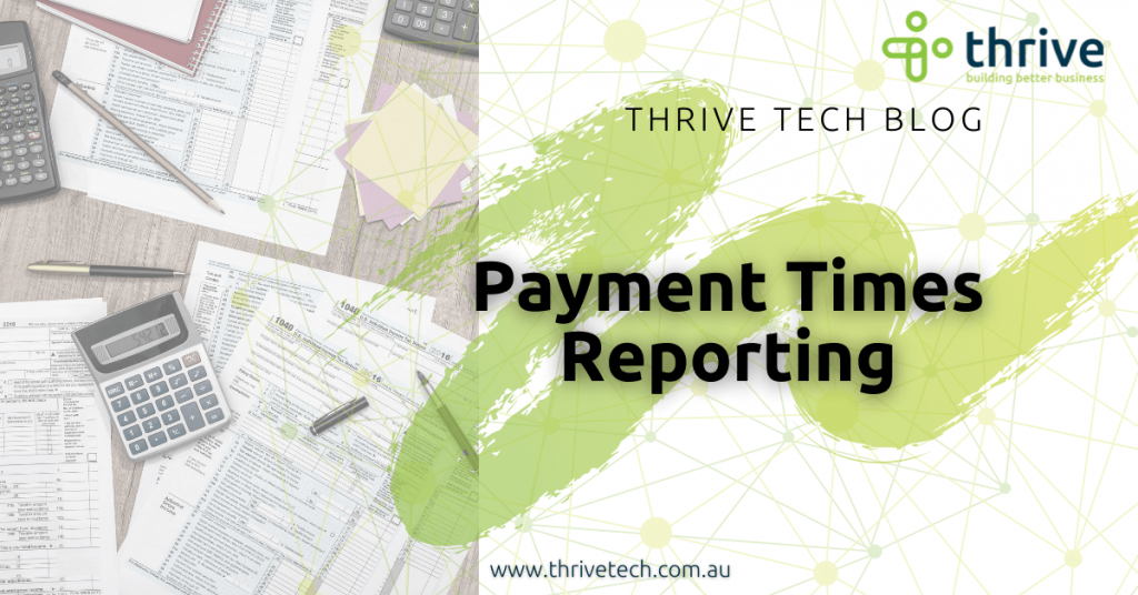 Payment Times Reporting
